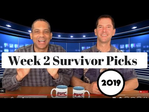 2019 NFL Survivor Pool Picks Week 2