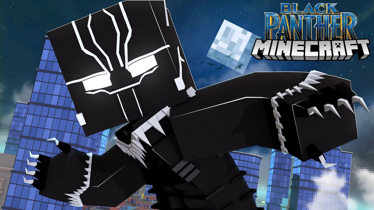 How to BECOME BLACK PANTHER - Minecraft Custom Adventure