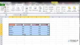 Excel 2010 Урок 16 Темы, Стили, Формат таблицы