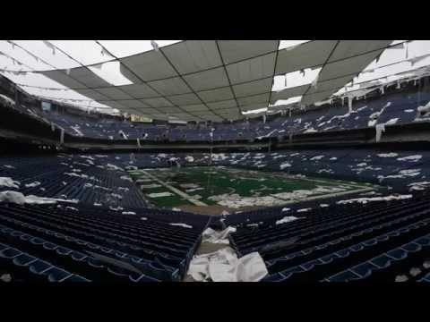Detroit abandoned American Stadium (HD) 1080p