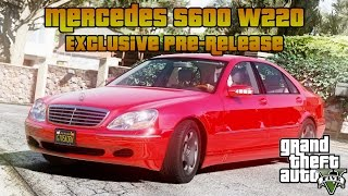 GTA 5: Mercedes S600 W220 [Download]