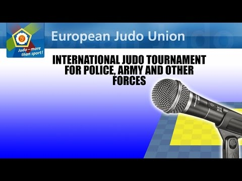 International tournament for police, army and other forces 2015 - FINAL BLOCK