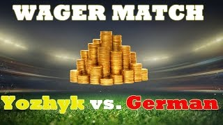 FIFA 15 Yozhyk Vs German Wager Match For 250 000