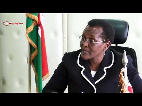Nancy Karingithu PS Shipping and Maritime Affairs in Kenya