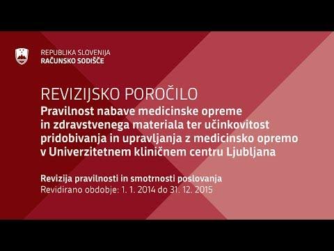 Revizijsko poročilo javnega naročanja v UKC Ljubljana