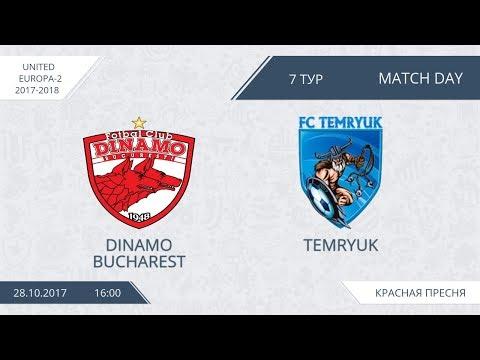 AFL17. United Europe. Day 7. Dinamo Bucharest - Temryuk