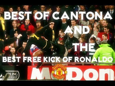 Un footballeur argentin se prend pour eric cantona et se la. Best Of Eric Cantona The Best Free Kick Of Ronaldo Hd Youtube