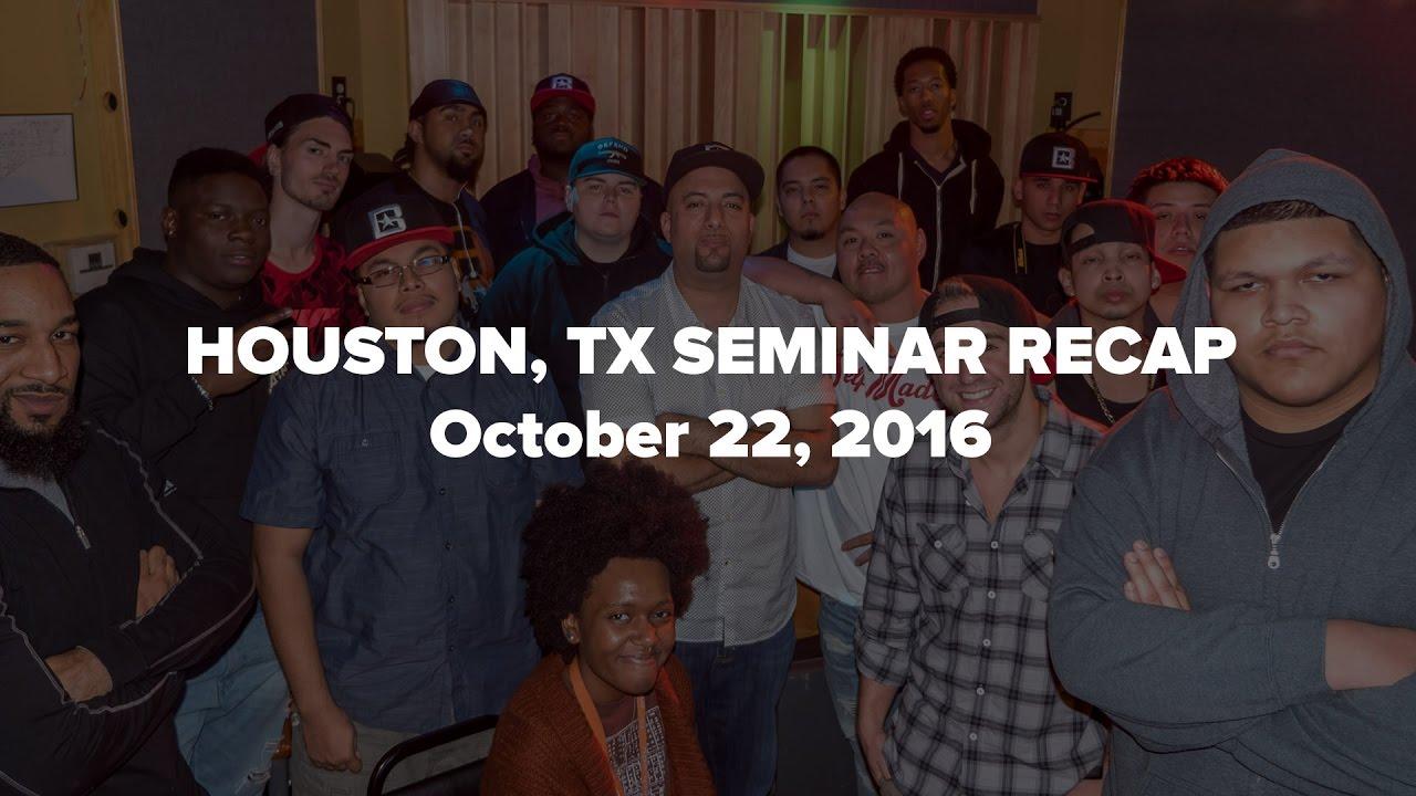 How To Sell Beats Online Seminar - Houston, Texas