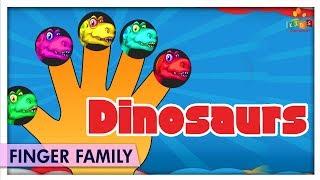 Dinosaurs Finger Family | Nursery Rhymes & Baby Songs | Kids Carnival