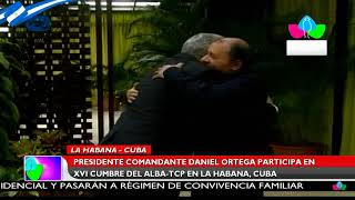 Presidente Daniel Ortega participa en XVI Cumbre del ALBA-TPC #Canal4Noticias