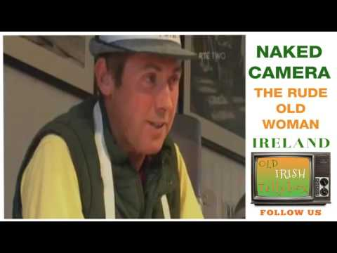 RTE Naked Camera Dirty Old Woman Fishmongers PJ Gallagher