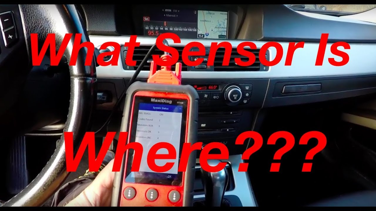 Where Is Oxygen Sensor Bank 1 And Bank 2 Located On Your Bmw