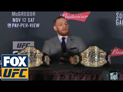 Conor McGregor's full UFC 205 post-fight press conference | UFC 205