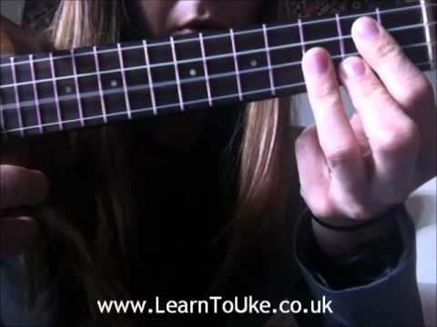 How To Play A Ukulele G Chord Youtube