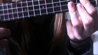 How to play a ukulele G chord