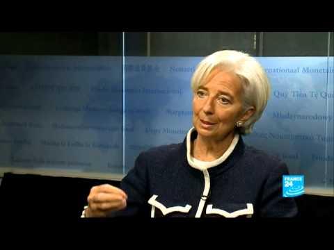 Christine LAGARDE, Directrice générale du Fonds Monétaire International, est l'Invitée de l'Economie