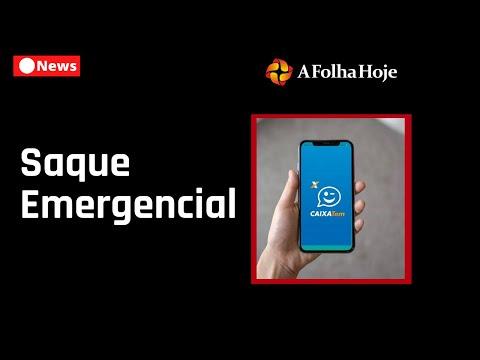 Saque do Auxílio Emergencial de hoje Terça Feira (28/04/2020) -  Novo Aplicativo de Saque