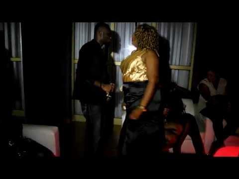 Prince David Osei rocking Vivian Achor in a club