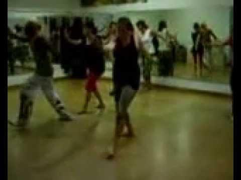 Africa dance teacher Sahr