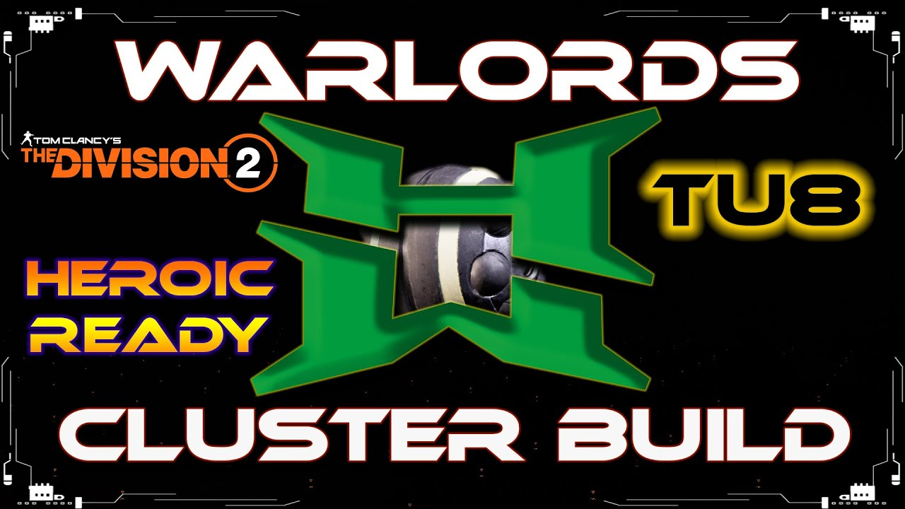 The Division 2 HardWired Cluster Seeker Mine Explosive Skill Build Warlords Of New York Heroic Ready