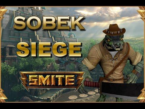 SMITE! Sobek, Estamos finos con el pegamento! Siege #91