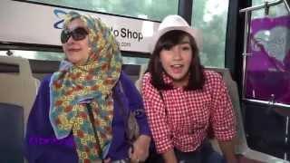 Berpetualang Seru Bareng Anisa Rahma di Jakarta Fair | Video Bintang com