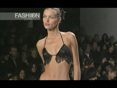 TODD OLDHAM Spring Summer 1998 New York - Fashion Channel