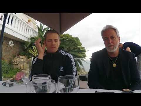 Joel Kinnaman and Ari Folman at Cannes