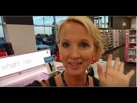 SouthernASMR Sounds - Walgreens Cosmetics Walk-Through
