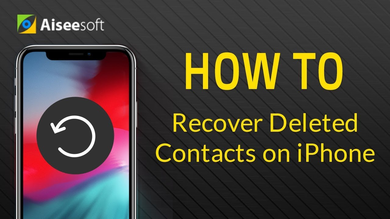 how to restore contacts on iphone how to recover deleted contacts on iphone 6 4311