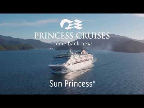Sun Princess - Walk-Through Tour Video | Princess Cruises