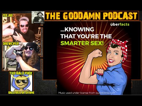 Why Women Are Smarter Than Men, White Guilt Slam Poetry, Much More! Ep 81 - 8/9/16