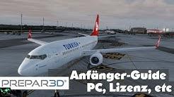 PREPAR3D Anfänger-Guide 1/4 | Lizenz, PC, Vergleich, usw. [German|HD]