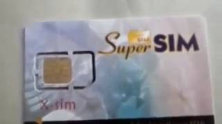 Super Sim 16 Number in 1 SIM Card with USB Card Reader Writer and Cloning Software