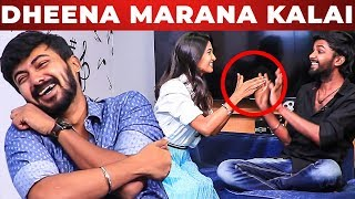 FUN UNLIMITED: KPY Dheena's Marana Kalai on Keerthi Pandian
