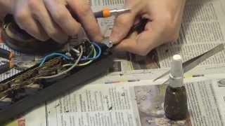 Pемонт сетевого фильтра типа pilot(Pемонт удлинителя типа pilot с выключателем и предохранителем. Замена провода питания., 2014-03-27T17:31:13.000Z)