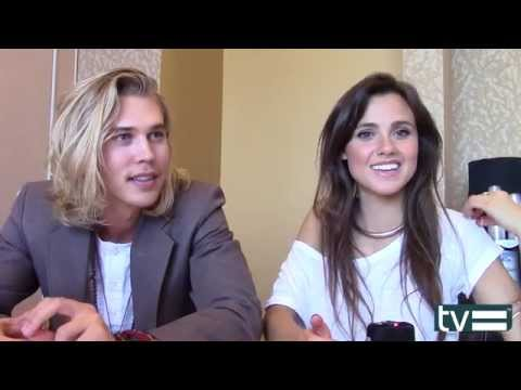 Austin Butler & Poppy Drayton Interview - The Shannara Chronicles