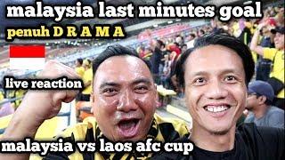 DRAMATIC MALAYSIA U23 (1)VS (0) LAOS U23 AFC CUP 2019