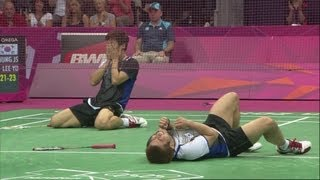 Korea Win Badminton Doubles Bronze - Malaysia v Korea | London 2012 Olympics