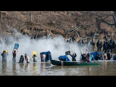 Morton County acting like they are testing weaponry on us – Standing Rock medic