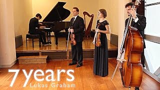 Download Lukas Graham - 7 Years (Piano + Trio strings cover) - Cristian Labelli MP3 song and Music Video