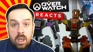 Reaction: Dancing with Overwatch + RAP SONG - Lúcio Self