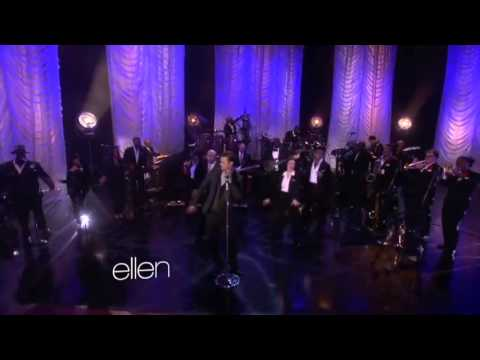 Justin Timberlake Performs 'Pusher Love Girl' on Ellen