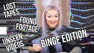 NEVER BEFORE SEEN - ARCHIVED NAIL ART VIDEOS - BINGE EDITION