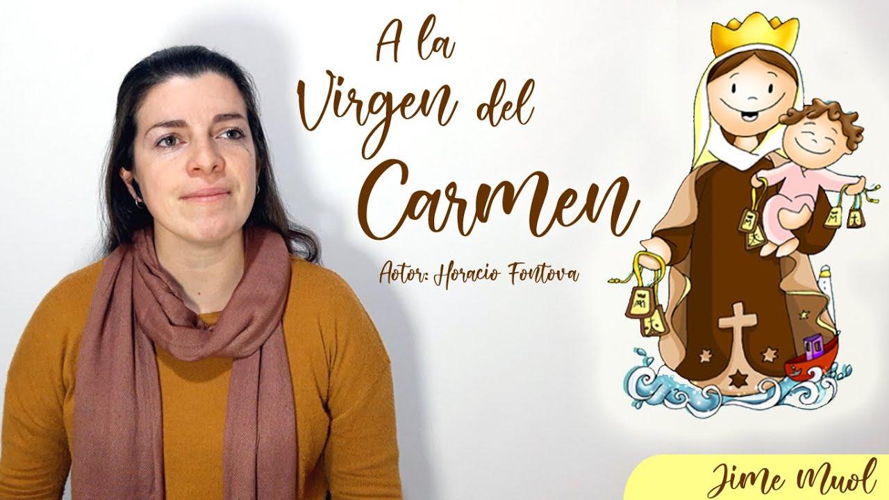 A la Virgen del Carmen (letra y acordes)