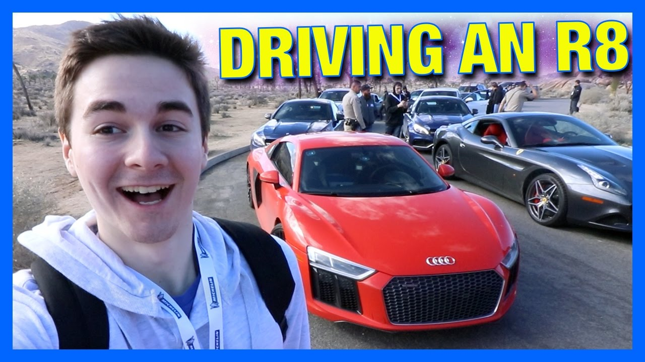 THEY LET ME DRIVE A SUPERCAR!!