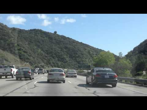 Drive from Sherman Oaks to West LA