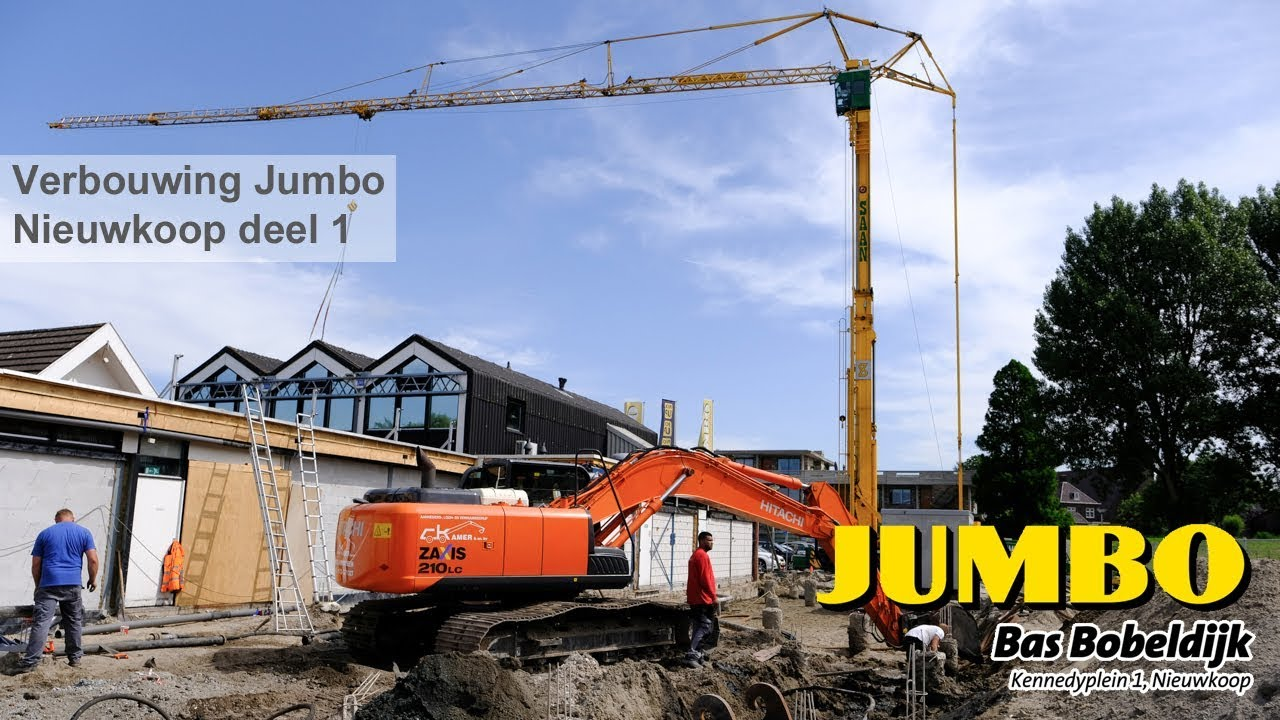 Jumbo Nieuwkoop verbouwing t/m 12-06-2018