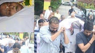 At Rita Bhaduri's funeral, celebs and family bid the actor goodbye