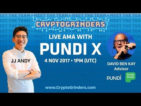 ICO: PundiX Live AMA with David Ben Kay   4 Nov 2017  